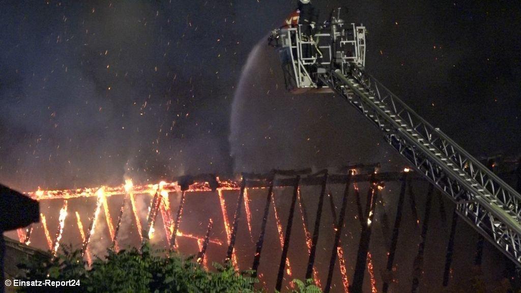 Brandeinsatz - Großbrand